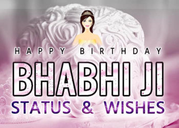 Birthday Wishes Status and Images for Bhabhi