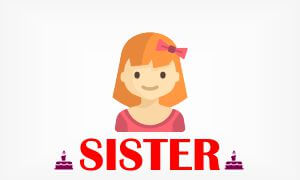 birthday wishes sms status for sister