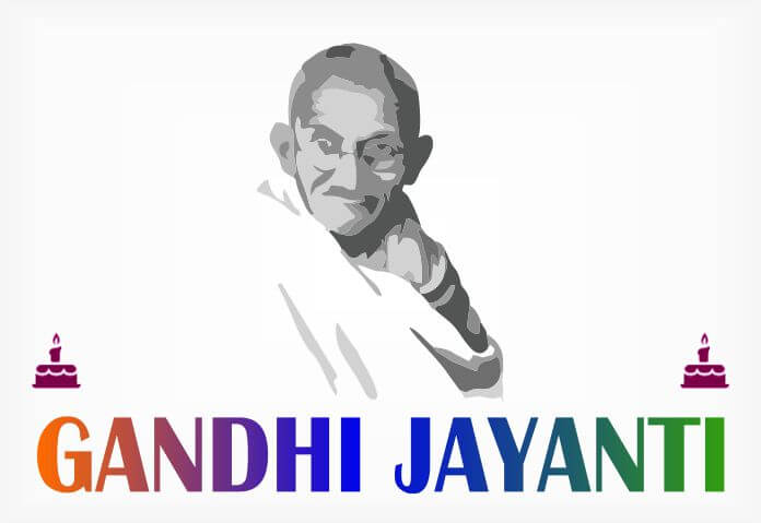 Gandhi Jayanti Wishes Quotes WhatsApp Status with Pics