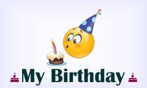 my birthday status